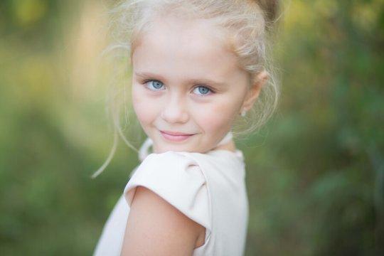 Sesja portretowa dziecka
