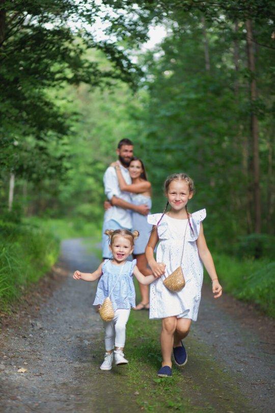 zdjęcia rodzinne sesja w plenerze