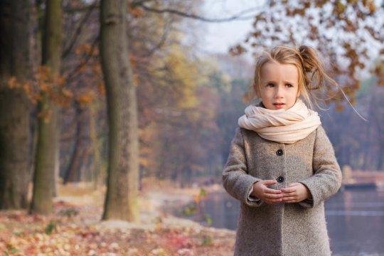 sesja jesienna w parku