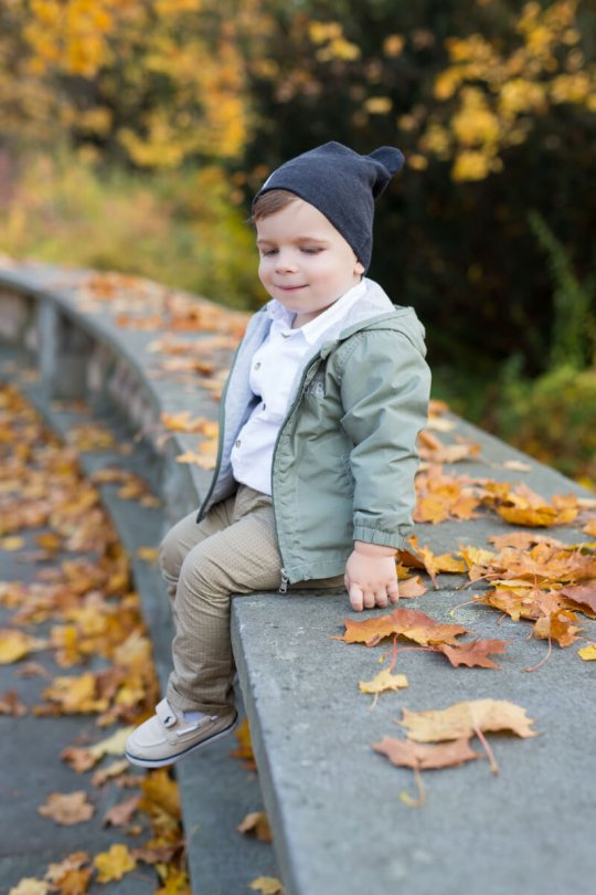 sesja jesienna w plenerze chorzów