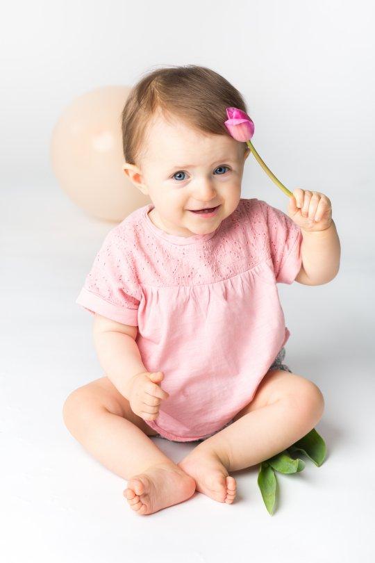 sesja zdjęciowa niemowlaka