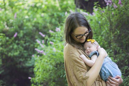 sesja rodzinna z niemowlakiem